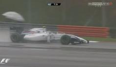 Bottas luchaba por lograr un lugar en la Q1. Foto: SkySports F1