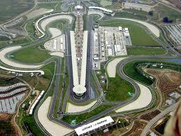 Imagen aerea del circuito de Sepang