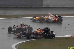 Vettel y Webber, nuevos mejores amigos.