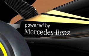 powered by Mercedes