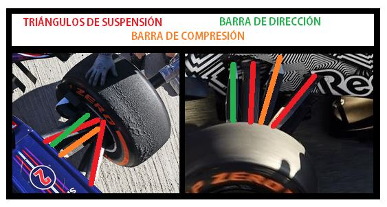 suspension delantera RB11